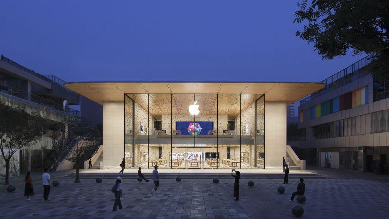 Apple strebt für 100% CO2-neutral an